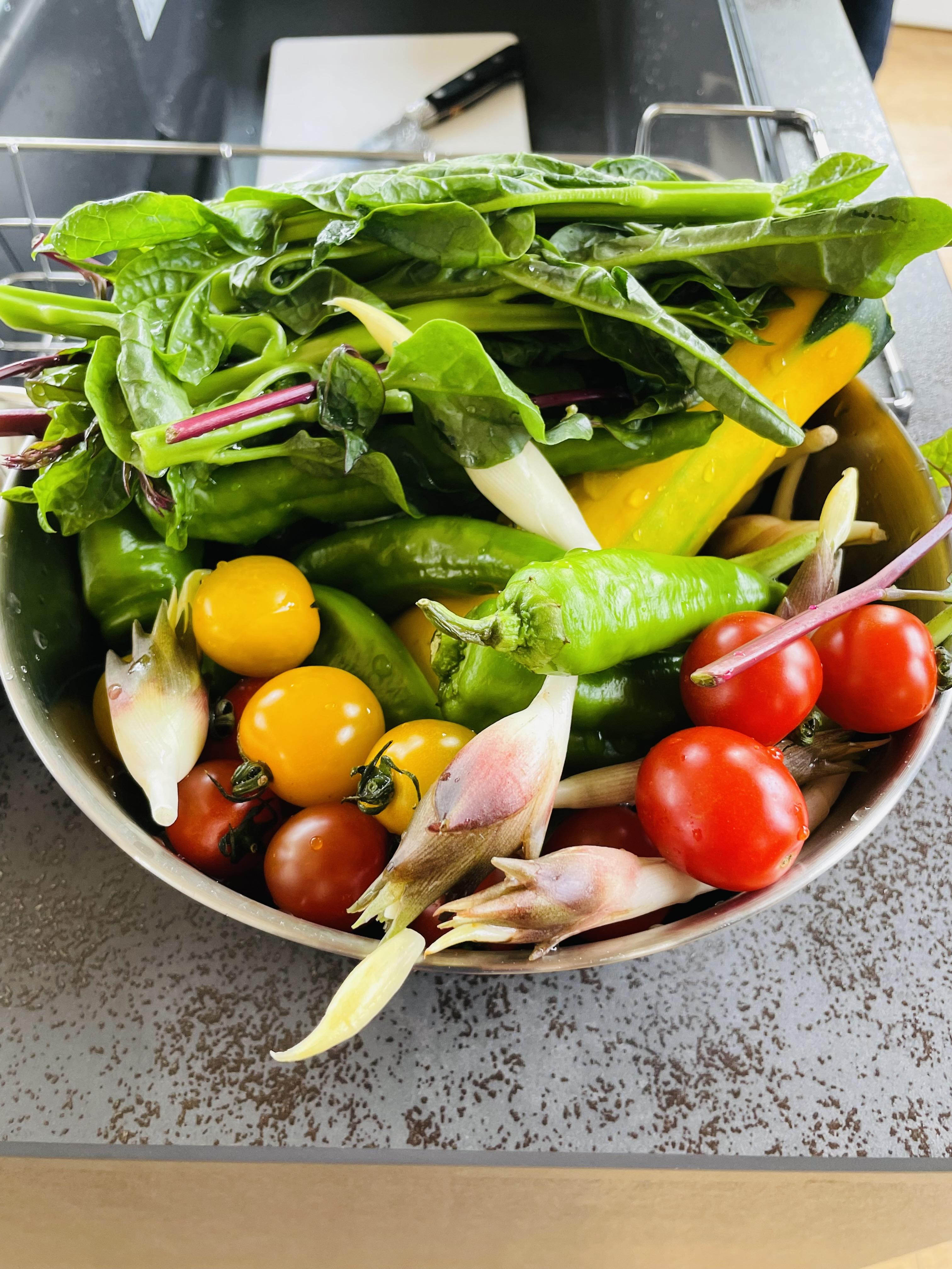 7月28日 健康野菜の料理教室